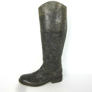 Steve Madden 6.5 Reins Distressed Leather Boots